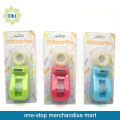 2PCS stationery tape with 1pc tape dispenser set