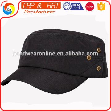 2016 chapeau militaire sur mesure avec oeillets métalliques