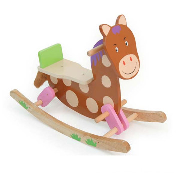 Wooden Pony Rocking Horse Toy
