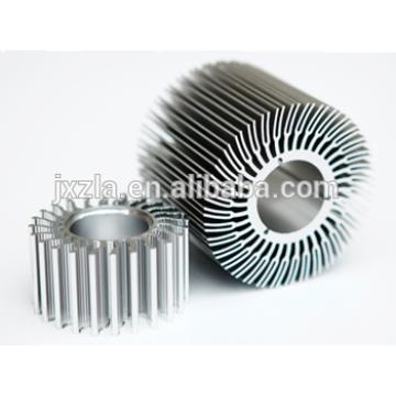 Pièces d'aluminium à chaud en aluminium