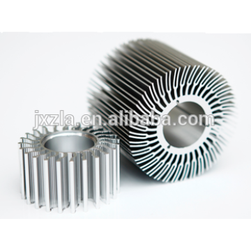 Hot sale aluminum parts aluminum led heat housing