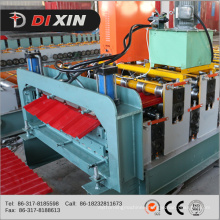 Corrugated Sheet Metal Roof Making Machine, Double Layer for Corrugated and Trapezoidal Roof Tile Machine