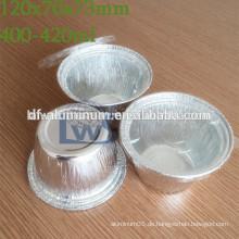 Einweg-Aluminiumfolie Backbleche, Aluminium Fast Food Cup