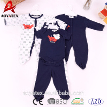 100% хлопок детская одежда милый малыш одежда длинный рукав младенцы детские комбинезоны