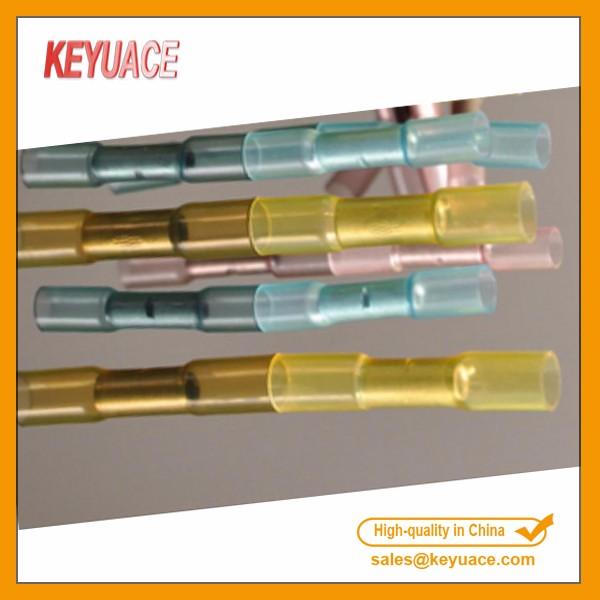 500 x yellow Heat Shrink Butt Connectors wire 26-22Gauge 0.2-0.75mm2 Unique