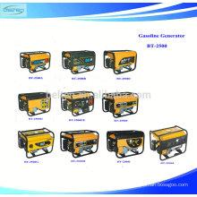 Single-phase 2.3kva Gasoline Generator Key Start Gasoline Generator 2500W