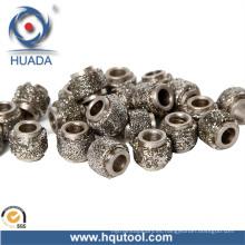 Cuentas de alambre del diamante vieron, corte en seco para cantera de mármol