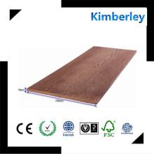 2016 Ventana fácil de la venta de la instalación fácil favorable al medio ambiente WPC Wallboard para la casa verde, panel de madera compuesto plástico de la pared