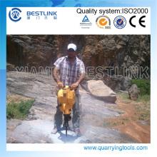 Taladro de roca de gasolina portátil para Quaary Stone