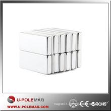 Bloque de imanes de alto rendimiento NdFeB Axial / Imán de neodimio fuerte Cubo / F60X10X10mm Imán de neodimio Neodimio