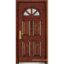 Turkish Style Steel Wooden Armored Door (LTK-A01)