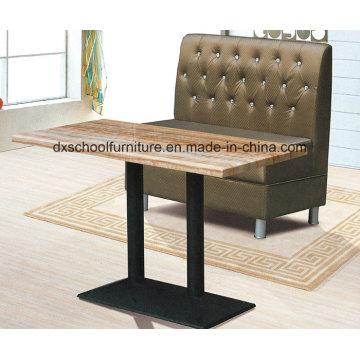 Modernes Sofa Zweisitzer für Restaurant, Café, Bar