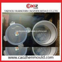 Inyección de plástico ronda cerradura de bloqueo del envase de contenedores de molde