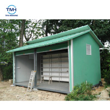 Custom Design Prefabricated Plastic Garden Storage House