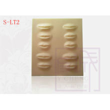 3-D Lip Practice Sheet High Quality Permanent Makeup tattoo skin