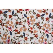 Tejidos estampados con varios patrones de flores de calidad confiable