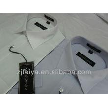 Alta calidadDos nuevos colores100% algodón hombres vestido de negocios camisas de mangas cortas FYST06 / 07-L