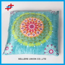 Classic Polyester Fabric Cushion In Suede Leather