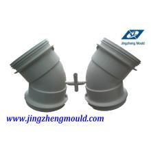 Moule convenable de tuyau de coude de PVC 63mm avec l'acier 2316