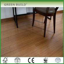 plancher de bambou tissé par brin solide de lustre élevé pour le balcon