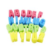 sponge letters,educational toys for kids,Natural Expanding Letter Shape Cellulose Sponge Baby Product