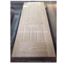 A pele contínua da placa da porta da madeira serrada moldou a fábrica do chinês da pele da porta