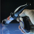 Colorful Ray Gun Glass Water Pipe for Herb Smoking (ES-HP-008)