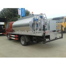 Baixo preço Dongfeng mini 3ton distribuidor de asfalto, 4x2 caminhão asfaltado venda