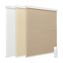 Motorized Semi Opaque Honeycomb Cellular Shades