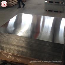 SPCC / MR lata de estanho quadrado de classe usado Tinplate de Jiangsu