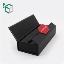 caixa de presente de papel rígida redonda de alta qualidade da placa magnética por atacado