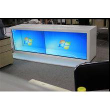 46inch fez a exposição transparente do LCD para anunciar