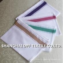 100% algodão Stripe cozinha toalha fabricante na China (DPH7712)