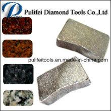 Fabricante del segmento del diamante de China para la hoja de sierra de 900-3500m m