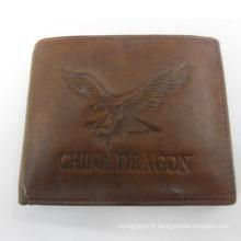 Aigle, scorpion imprimer conception spéciale porte-monnaie impression animale pour hommes