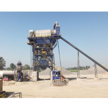 Modular Hot Mix Asphalt Plant Working