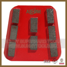Core Competance Diamond Floor Grinding Concrete Plate (SYYH-08)