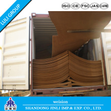 E1 MDF Plain Hard Board Types of Wood MDF