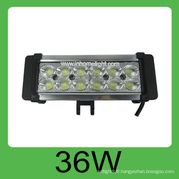 Vente chaude 36W DC10-30V Auto Led hors barre de lumière de route, lumière de travail menée
