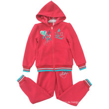 Fleece Kidsgirl Sport Anzug für Kinderkleidung Swg-130