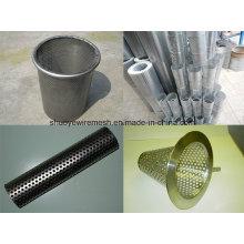 Malha de metal perfurado para malha decorativa de filtro de filtro