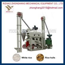 MINI mini-molino de arroz automático completo planta-maquinaria agrícola