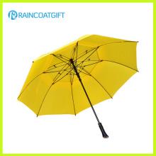 Parapluie extérieur droit de golf d'ouverture automatique de la publicité 30inch * 8k