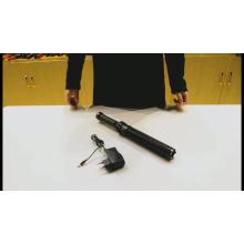 Zoomable Strobe Electric Tactical auto-defesa lanterna