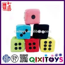 2017 Новый пользовательский кости игрушки для детей развивающие подгонянный цвет и размер с печатью или вышивкой
