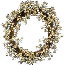 24in Golden Starlite Kreationen Kranz mit Batteris Betrieb 48 LEDs (MY255.258.00)