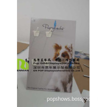 Pet Tag Standee with 2 Pegs Display