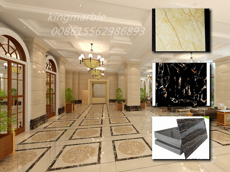 pvc wall panel marble panel uv board for interior wall decoration
