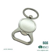 2016 porte-clés décapsuleur logo personnalisé blanc