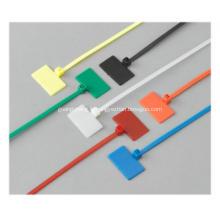 Attache de marquage de câble / Identifier les attaches de câble en nylon du marqueur